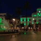 Monumentos de Mérida se iluminarán en verde por el ELA