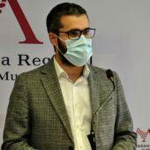 Francisco Lucas, portavoz del PSRM-PSOE