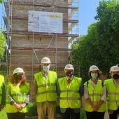 Visitas a las obras de rehabilitación de la Torre don Fadrique