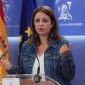 Adriana Lastra, portavoz socialista en el Congreso de los Diputados