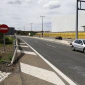 En este punto de la A68 se produjo el atropello mortal. Con ésta, son 19 las víctimas mortales en carreteras aragoneses en lo que va de año.