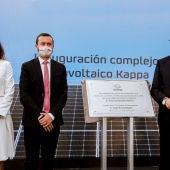 Inauguración del complejo fotovoltaico de Repsol en Manzanares