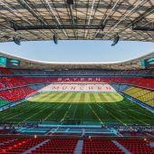 La UEFA rechaza la iluminación del Allianz con la bandera arcoíris