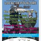 El folklore animará la celebración de San Juan