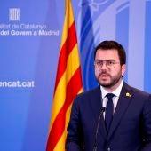 Aragonés anuncia que la mesa de diálogo se reunirá de nuevo en Barcelona en septiembre
