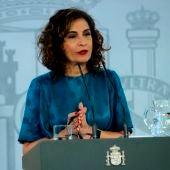 """María Jesús Montero: """"En ningún momento el presidente Sánchez ha hablado de amnistía o autodeterminación"""""""