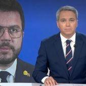 """Vicente Vallés destapa la reivindicación del independentismo, tras la reunión con Pedro Sánchez: """"No van a ceder"""""""
