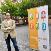 José Luis Costillas, concejal de cultura del Ayuntamiento de Oviedo.