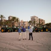 Presentación dispositivo limpieza en las playas de Alicante