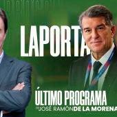 De la Morena entrevista a Joan Laporta