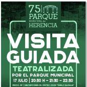 El Ayuntamiento prepara la visita teatralizada del Parque Municipal