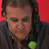 """Así ha comenzado el último programa de De la Morena en la radio: """"Buenas noches y gracias"""""""