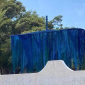 Escultura del mapa sonor del puerto de La Vila Joiosa.