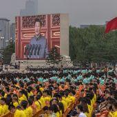 Celebración centenario partido comunista chino