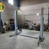 Localizado un taller ilegal en Chinchilla