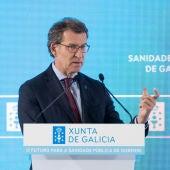 Feijoó destaca o compromiso co futuro da sanidade pública de Ourense