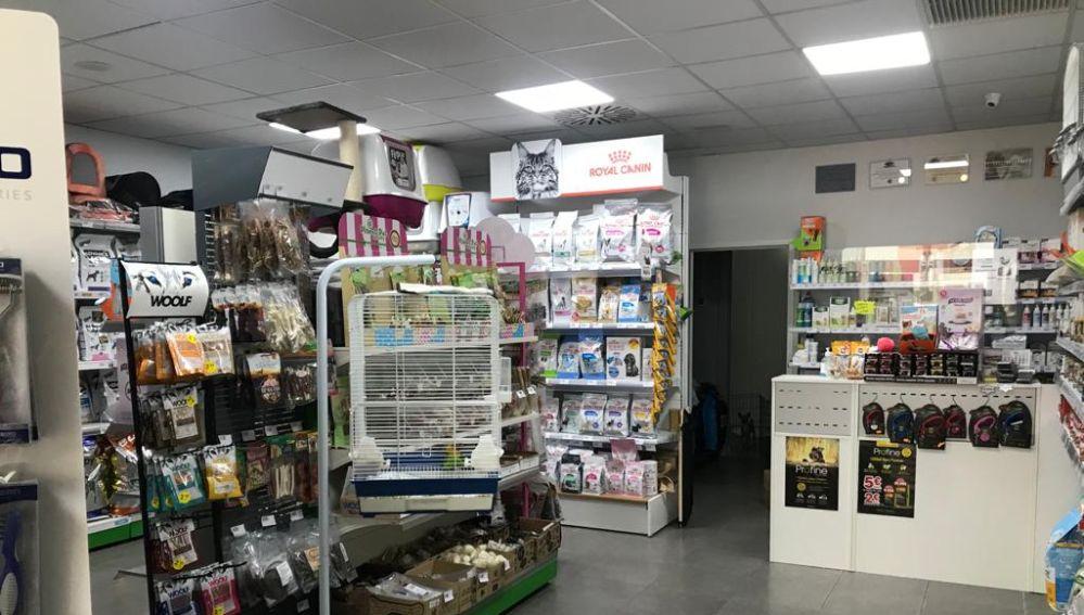 Centro veterinario 'Natural Mascotas' de Torrellano.