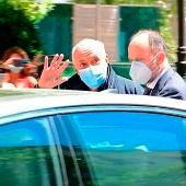 José Luis Moreno, a su salida de la sede de la Audiencia Nacional