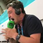 La increíble narración de Alfredo Martínez en Onda Cero de la tanda de penaltis del España - Suiza