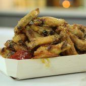 Receta de alitas de pollo crujientes de Robin Food