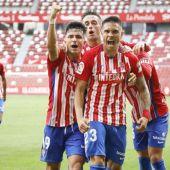 Djurjevic celebra un gol de la pasada temporada
