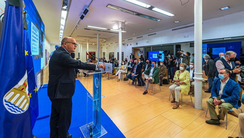 Acto de presentación da Estratexia de captación de financiamento europeo para Ourense