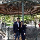Pedro Sánchez e Isabel Rodríguez en Puertollano