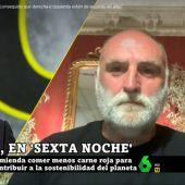 """El chef José Andrés, sobre la polémica de la carne: """"No se puede hacer una campaña denigrando a una industria que genera mucho empleo"""""""
