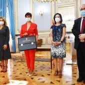 Isabel Rodríguez ha recibido la cartera del Ministerio de Política Territorial