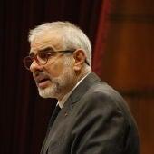 Carlos Carrizosa, en una compareixença al Parlament.