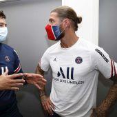 Ramos junto a Pochettino
