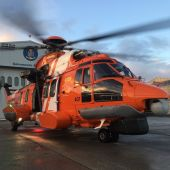 Un helicóptero 'Helimer' de Salvamento Marítimo