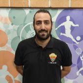 Sergio Belda, técnico del sénior masculino del CBM Elche.