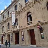 Fachada del Teatro Principal de Vitoria