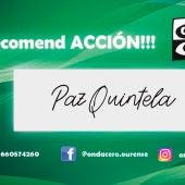 Recomend ACCION!!! con Paz Quintela