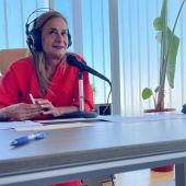 Carmela Silva, presidenta de la Deputación de Pontevedra desde la sede de Vigo