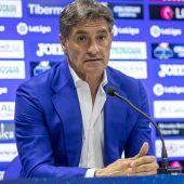 Michel, entrenador del Getafe
