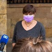 Ana Rivas, concejala del PSOE en Oviedo.
