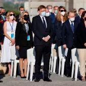 Ximo Puig, homenaje a las víctimas del COvid, Madrid