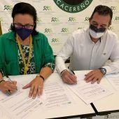 El Círculo Empresarial Cacereño y el Clúster de Turismo de Extremadura firman un convenio de colaboración