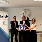 L'Aljub se convierte en el primer centro comercial en conseguir la Q de Calidad Turística.