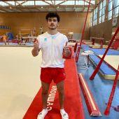 El gimnasta mallorquín, Nicolau Mir