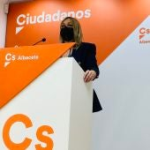 Carmen Picazo, coordinadora autonómica de ciudadanos Castilla-La Mancha
