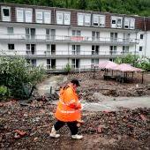 Zona catastrófica en Alemania por el temporal