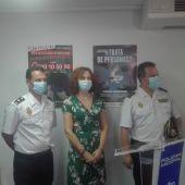 Collado, Herreros y Camacho han informado de la operación policial