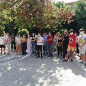 Los alumnos y padres del IES Bioclimático se manifiestan contra el horario de tarde