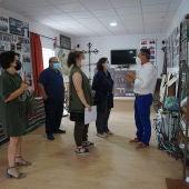 La directora del Instituto Juan Gil-Albert visita Rafal para inspeccionar sus obras más valiosas