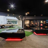 Dentro del Museo de Camarón