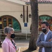 Lucía Falcón y Ricardo Rodríguez, concejales del PSOE en Oviedo