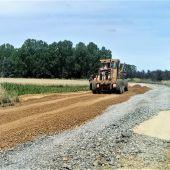 La Diputación corta al tráfico el tramo desde la PP-2411 de Villotilla a la N-120 para acometer las obras